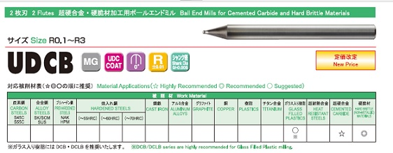 ユニオンツールダイヤモンドコートエンドミル新開発 UDCダイヤモンドコート